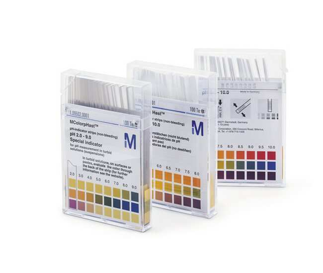 MilliporeSigma™ MColorpHast™ pH Test Strips and Indicator Papers